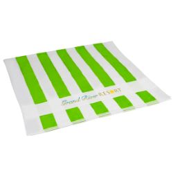 Lightweight Striped Beach Towel