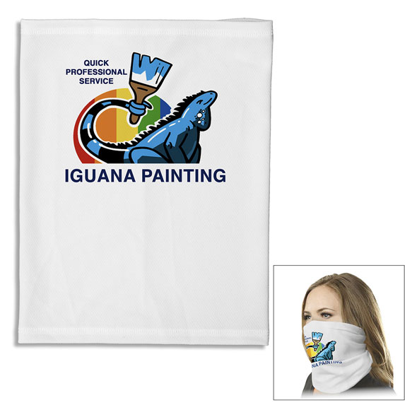 Full Color Dye Sublimated Gaiter  - Apparel
