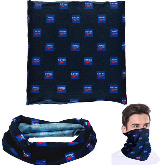 1-Ply Multifunctional Head Gaiter - Health Care & Safety Fitness Products