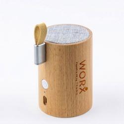 Genuine Natural Wood-Crafted Bluetooth Speaker