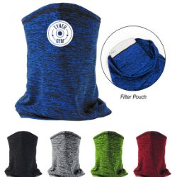 Heathered Cooling Gaiter with Filter