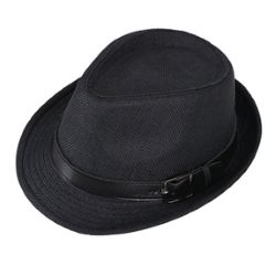 Fedora Hat With Leather Band